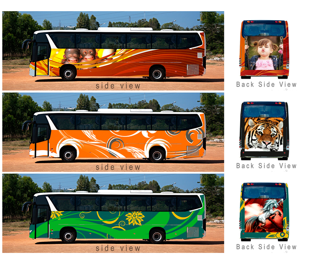 Bus Body Painting Designs