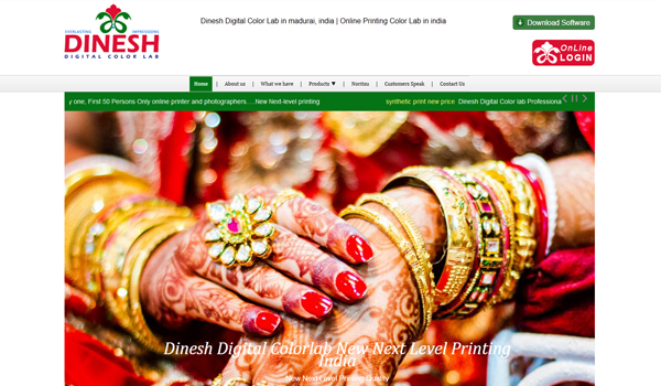 dineshdigitalcolorlab Dinesh Digital Color Lab in madurai, india | Online Printing Color Lab in india