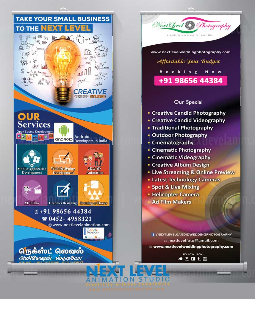 Corporate Standee Banner Designer in Madurai
