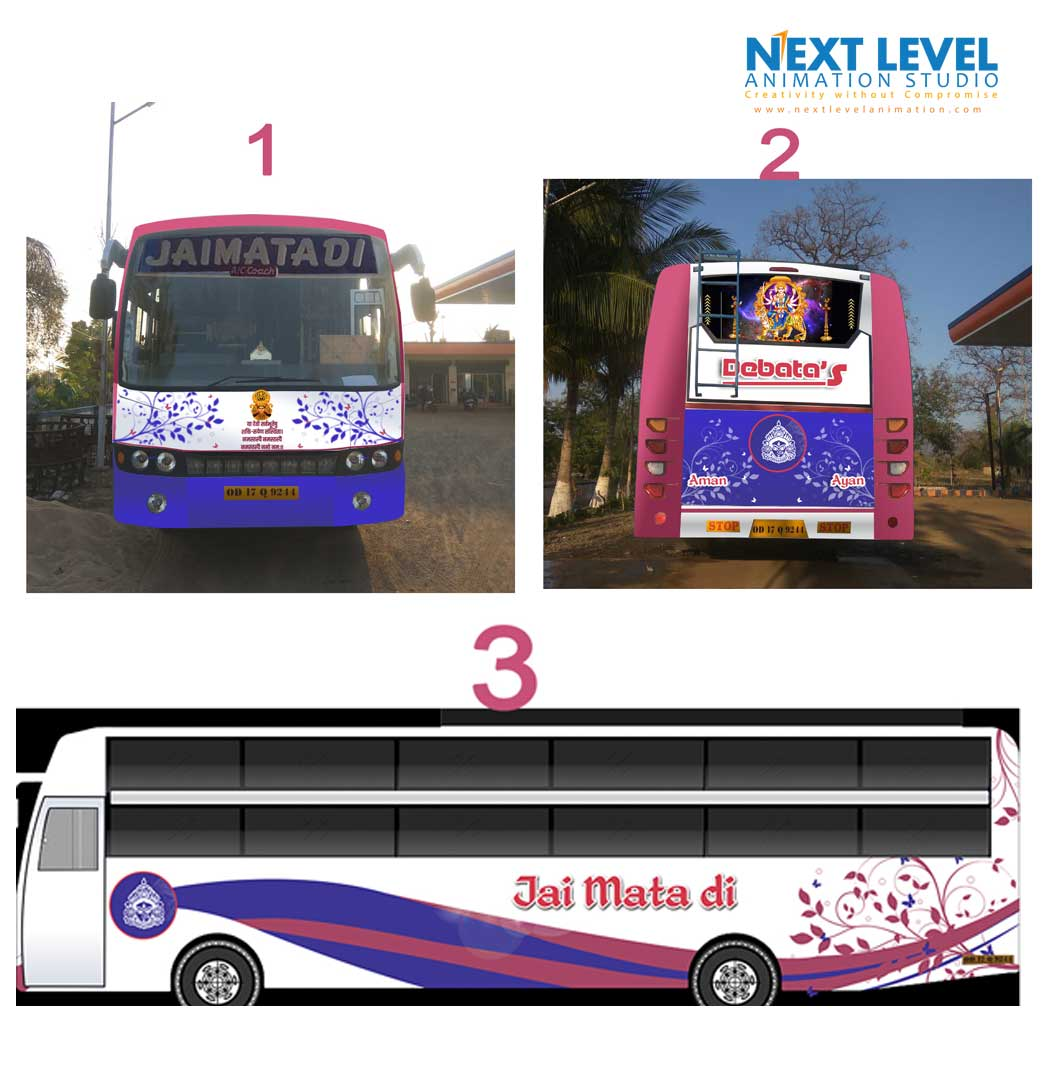 new bus colour design 2018