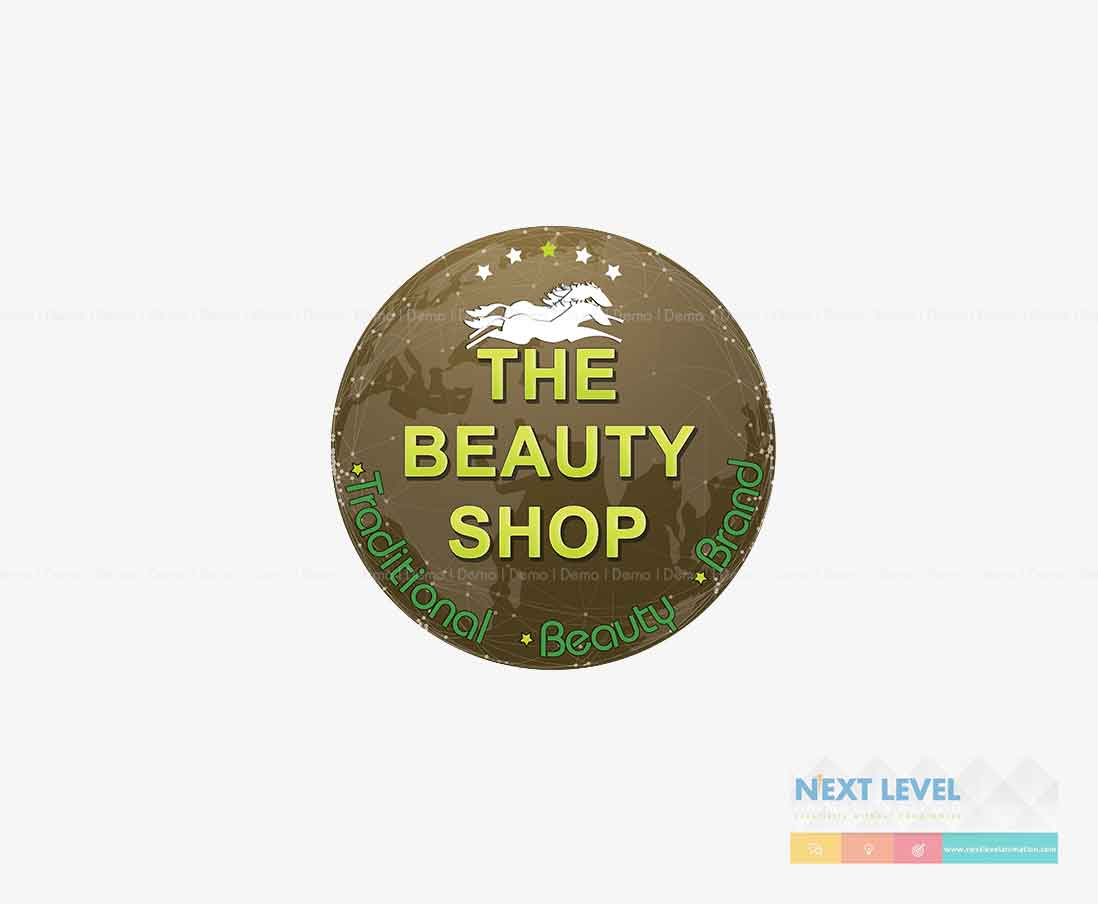 the beauty shop logo in theni india